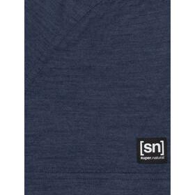 super.natural Everyday Polo Shirt Men blue iris melange